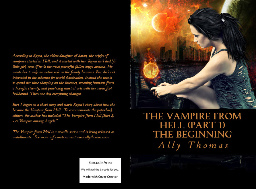 Part 1 in paperback with its new cover by Cora Graphics. Click the image to view this on Amazon.